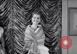 Image of Fashion Parade New York United States USA, 1956, second 26 stock footage video 65675040936