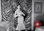 Image of Fashion Parade New York United States USA, 1956, second 32 stock footage video 65675040936