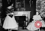 Image of Fashion Parade New York United States USA, 1956, second 44 stock footage video 65675040936