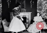 Image of Fashion Parade New York United States USA, 1956, second 45 stock footage video 65675040936
