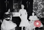 Image of Fashion Parade New York United States USA, 1956, second 61 stock footage video 65675040936
