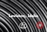 Image of Motorcycle hill climb Lewiston Idaho United States USA, 1956, second 5 stock footage video 65675040937