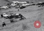 Image of Motorcycle hill climb Lewiston Idaho United States USA, 1956, second 11 stock footage video 65675040937