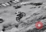 Image of Motorcycle hill climb Lewiston Idaho United States USA, 1956, second 19 stock footage video 65675040937
