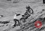 Image of Motorcycle hill climb Lewiston Idaho United States USA, 1956, second 21 stock footage video 65675040937