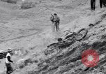 Image of Motorcycle hill climb Lewiston Idaho United States USA, 1956, second 22 stock footage video 65675040937
