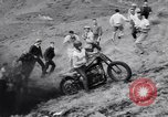 Image of Motorcycle hill climb Lewiston Idaho United States USA, 1956, second 26 stock footage video 65675040937