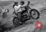 Image of Motorcycle hill climb Lewiston Idaho United States USA, 1956, second 28 stock footage video 65675040937