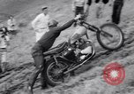 Image of Motorcycle hill climb Lewiston Idaho United States USA, 1956, second 33 stock footage video 65675040937
