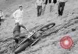 Image of Motorcycle hill climb Lewiston Idaho United States USA, 1956, second 34 stock footage video 65675040937