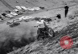Image of Motorcycle hill climb Lewiston Idaho United States USA, 1956, second 36 stock footage video 65675040937