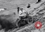 Image of Motorcycle hill climb Lewiston Idaho United States USA, 1956, second 37 stock footage video 65675040937