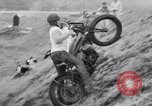 Image of Motorcycle hill climb Lewiston Idaho United States USA, 1956, second 38 stock footage video 65675040937