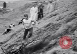 Image of Motorcycle hill climb Lewiston Idaho United States USA, 1956, second 40 stock footage video 65675040937