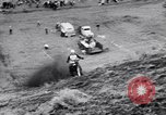 Image of Motorcycle hill climb Lewiston Idaho United States USA, 1956, second 42 stock footage video 65675040937