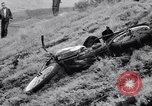 Image of Motorcycle hill climb Lewiston Idaho United States USA, 1956, second 47 stock footage video 65675040937