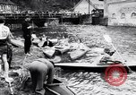 Image of Kayak skippers Germany, 1956, second 5 stock footage video 65675040938
