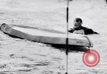Image of Kayak skippers Germany, 1956, second 29 stock footage video 65675040938