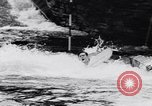 Image of Kayak skippers Germany, 1956, second 36 stock footage video 65675040938