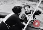 Image of Kayak skippers Germany, 1956, second 46 stock footage video 65675040938