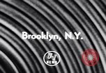 Image of Film on War Brooklyn New York City USA, 1956, second 2 stock footage video 65675040942