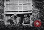 Image of President Eisenhower Washington DC USA, 1956, second 36 stock footage video 65675040947
