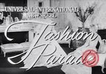 Image of Fashion Parade New York United States USA, 1956, second 1 stock footage video 65675040956