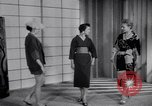 Image of Fashion Parade New York United States USA, 1956, second 35 stock footage video 65675040956