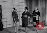 Image of Fashion Parade New York United States USA, 1956, second 37 stock footage video 65675040956