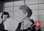 Image of Fashion Parade New York United States USA, 1956, second 49 stock footage video 65675040956