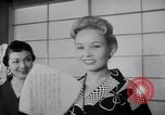 Image of Fashion Parade New York United States USA, 1956, second 50 stock footage video 65675040956