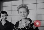 Image of Fashion Parade New York United States USA, 1956, second 51 stock footage video 65675040956