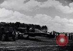 Image of RAF fighter planes attack German bomber aircraft England United Kingdom, 1940, second 11 stock footage video 65675041004
