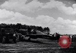 Image of RAF fighter planes attack German bomber aircraft England United Kingdom, 1940, second 13 stock footage video 65675041004