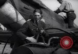 Image of Spitfire plane refueling Battle of Britain United Kingdom, 1940, second 34 stock footage video 65675041011