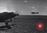 Image of Luftwaffe aircraft operations Eastern Front, 1941, second 46 stock footage video 65675041021