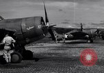 Image of Flight Operations at Henderson Field Guadalcanal Solomon Islands, 1943, second 25 stock footage video 65675041033