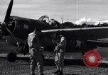 Image of Flight Operations at Henderson Field Guadalcanal Solomon Islands, 1943, second 29 stock footage video 65675041033