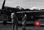Image of Flight Operations at Henderson Field Guadalcanal Solomon Islands, 1943, second 30 stock footage video 65675041033