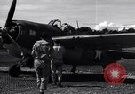 Image of Flight Operations at Henderson Field Guadalcanal Solomon Islands, 1943, second 34 stock footage video 65675041033