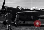 Image of Flight Operations at Henderson Field Guadalcanal Solomon Islands, 1943, second 35 stock footage video 65675041033