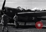 Image of Flight Operations at Henderson Field Guadalcanal Solomon Islands, 1943, second 36 stock footage video 65675041033