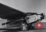 Image of Ford tri motor airplane San Cristobal Chile, 1929, second 19 stock footage video 65675041039