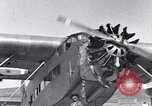 Image of Ford tri motor airplane San Cristobal Chile, 1929, second 34 stock footage video 65675041039