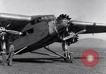 Image of Ford tri motor airplane San Cristobal Chile, 1929, second 39 stock footage video 65675041039