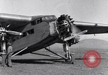 Image of Ford tri motor airplane San Cristobal Chile, 1929, second 40 stock footage video 65675041039