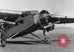 Image of Ford tri motor airplane San Cristobal Chile, 1929, second 41 stock footage video 65675041039