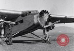 Image of Ford tri motor airplane San Cristobal Chile, 1929, second 43 stock footage video 65675041039