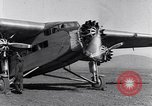 Image of Ford tri motor airplane San Cristobal Chile, 1929, second 44 stock footage video 65675041039