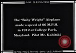 Image of Baby Wright Airplane College Park Maryland USA, 1930, second 6 stock footage video 65675041059